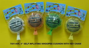 7501-4SK SELF-INFLATING WHOOPEE CUSHION WITH KEY CHAIN
